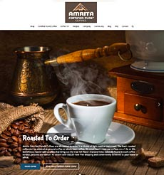 amritacoffee.com