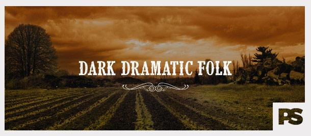 Dark Dramatic Folk