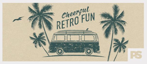 Cheerful Retro Fun